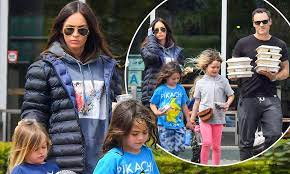 Megan Fox spends quality time with her ...