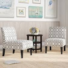 veranda slipper accent chair set of 2