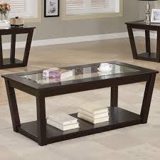lovable glass coffee table set with coaster fenmore 701506 brown glass coffee table set steal a sofa