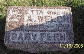 Fern Welch (1916-1916) - Find A Grave Memorial