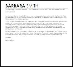 Business Apology Letter For Poor Customer Service Apology Letters Coursework Sample