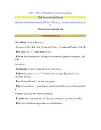 Apa Article Summary Example Ataumberglauf Verbandcom