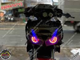Độ đèn Bi cầu Led Winner X