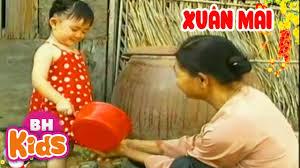 Nhạc Thiếu Nhi Xuân Mai - Bé Quét Nhà, Bà Ơi Bà Cháu Yêu Bà Lắm - Bài Hát  Hay Cho Trẻ Mầm Non - YouTube