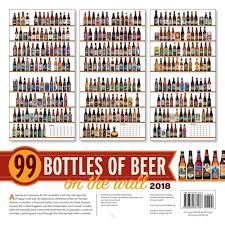 99 bottles of beer on the wall 2018 wall calendar