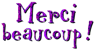 Image result for merci beaucoup gif