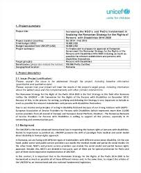 It Project Proposal Template Word Free Documents Download