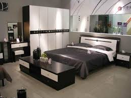 black grey bedroom furniture decor and design ideas with black table also white wardrobe also and black white bedroom furniture