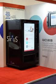 Vending Machine Vinyl Wrap Amazing Intelligent Vending SiriuS™ At AVEX 48 Intelligent Vending