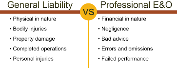 general liability insurance is diffe than professional liability insurance coverage
