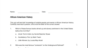 Black History Month Printables, Crafts & Lessons for Students ...