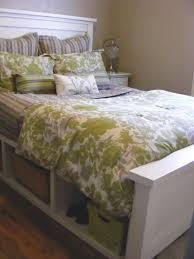 Lyndhurst Bedroom Furniture Ana White Farmhouse Storage Bed With Hinged Footboard Diy Projects