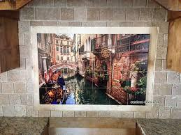 Tile Murals For Kitchen 17 Best Images About Custom Printed Tile Mural Backsplash On