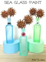 sea glass paint how to easily create beautiful beach glass