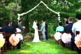 Image result for cheap backyard wedding