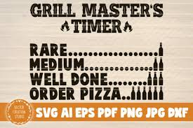 You will receive 4 digital files in 1 (one) zip folder: 42 Funny Grill Bundle Designs Graphics