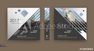 Cover Sheet Design Abstract Blurb White Black Brochure Cover Design Fancy Info