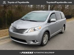 2013 Used Toyota Sienna XLE at Fayetteville Autopark, IID 17436236
