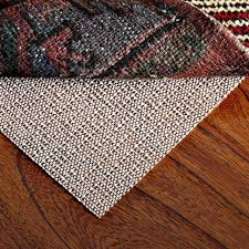 non slip area rug pad 4 x6 inch for indoor rug gripper environmental friendly