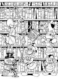 Print Dagobert Duck Kleurplaat Coloring Disney Kleurplaten