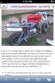x22 wiring help rewire need diagram info page 2 pocket bike that bikes not bored to 125cc s and its definately not 2 stroke the biggest i ever got a 110cc engine is 126cc and thats a 56mm piston and a 51mm