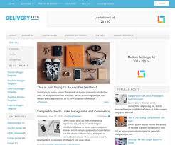 Delivery Lite Blogger Template Newbloggerthemes Com