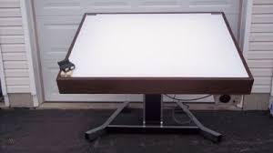 mayline futur matic lighted drafting