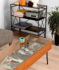 diy gl top coffee table projects ideas glass diy modern coffee table
