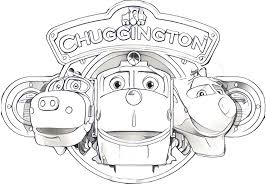 Small Picture Coloring Pages Chuggington Drawing