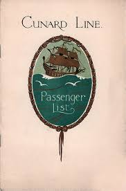 SS Berengaria Passenger List - 16 August 1930 | GG Archives