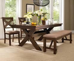 powell kraven dining table in dark hazelnut beyond s