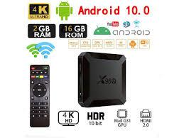 Android 10.0 TV Box,X96 Mini 2020 Upgraded Version X96Q 2GB RAM 16GB ROM  Smart TV Box Allwinner H313 Quad Core Support 4K 3D Set Top Box X96 Mini  WiFi Home Media Player -