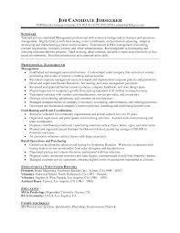 Resume Template Resume Template For Internal Promotion Free