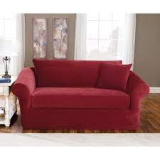 sure fit stretch pique three piece sofa