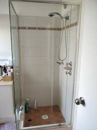 shower and frame