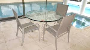 rectangular glass patio table wrought iron painted table base w round glass top patio images with