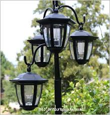 solar light for outdoor lamp post inviting easy diy solar lights lamp post with flower