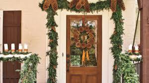 christmas front door decorationsSpectacular Holiday Entry and Christmas Door Decorations
