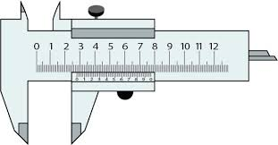 Its A Slide Calipers Or Vernier Calipers Vector Sketch It