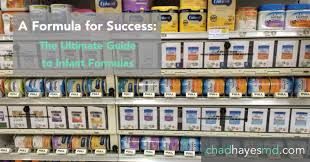 Infant Formula Comparison Chart A Formula For Success The Ultimate Guide To Infant Formulas