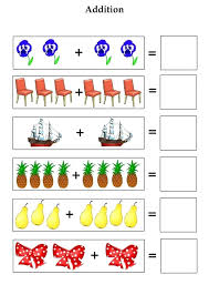 Simple Addition Worksheets Kindergarten For Free And Subtraction ...