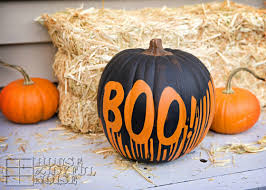 pin this dripping paint pumpkin 25 no carve pumpkin decorating ideas