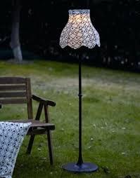 solar floor lamp outdoor