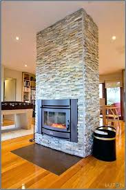 brick fireplace insert herringbone