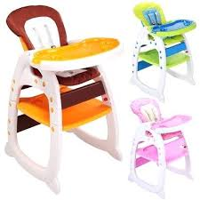 Toddler Play Table Baby High Chair 3 In 1 Convertible Seat Booster Feeding Tray Childrens Water Uk