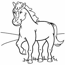 Kleurennu Paard 9 Kleurplaten