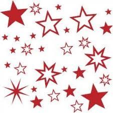 30 Stück Selbstklebende Sterne Sternaufkleber Fensterdeko Für Weihnachten In Verschiedene Farben 70001