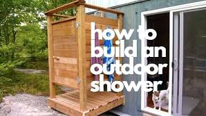 building an outdoor shower building outdoor shower drainage building outdoor shower stall