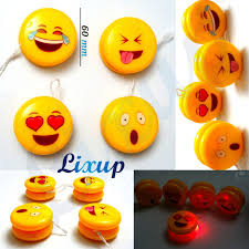 ball yoyo. smiley face light up yoyo yo clutch mechanism toy speed ball high performance yoyo