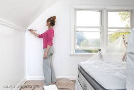 how to paint over wallpaper d